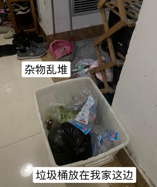 小区业主:新规来了,家门口堆放垃圾是违法行为!